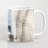 window Mugs featuring Window by RMK Creative