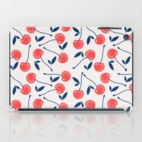 cherry iPad Cases featuring Cherry  by Babiole Design