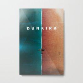 Dunkirk Film Art Metal Print