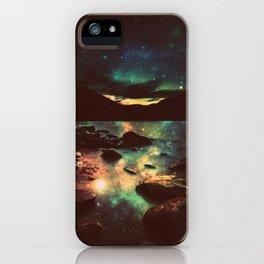 Dark Magical Mountain Lake iPhone Case