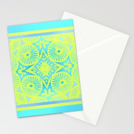 tropicana quicksand Stationery Cards