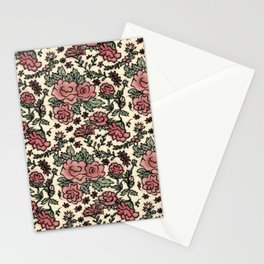 Project 413 | Roses on Cream Stationery Cards
