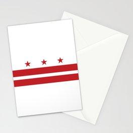 Washington, D.C. Flag Stationery Cards