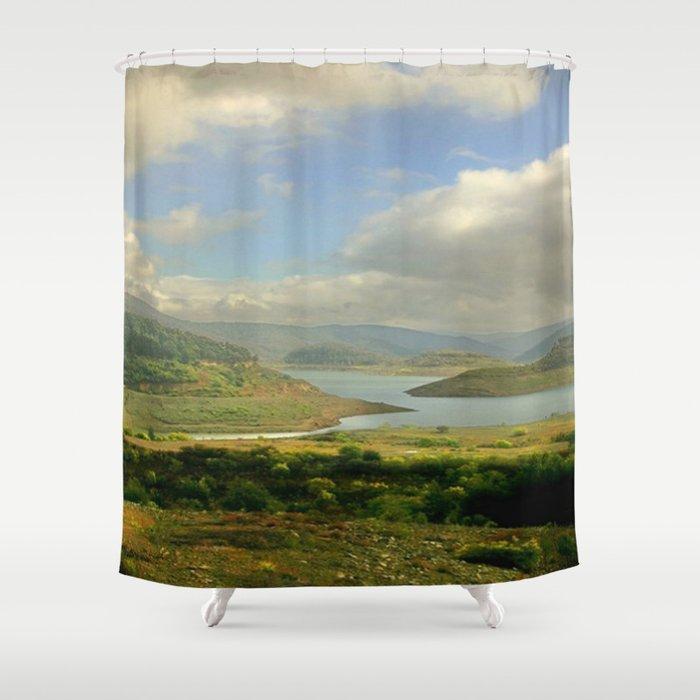 Alpine Ranges Shower Curtain