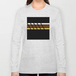 Team Colors...Beige,brown Long Sleeve T-shirt