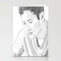 dean winchester Stationery Cards featuring Dean Winchester by Nasher67671
