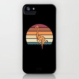 Funny Giraffe Giraffes Gift Idea iPhone Case