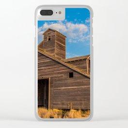 Grain Elevator 8 Clear iPhone Case