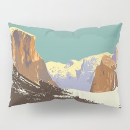 Yosemite National Park Pillow Sham