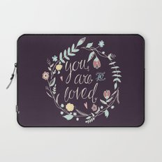 You are so loved Laptop Sleeve