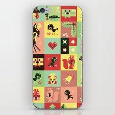 Christmas Geometric Pattern No. 2. iPhone & iPod Skin