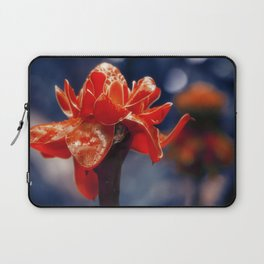 Caribbean Garden Flower Laptop Sleeve