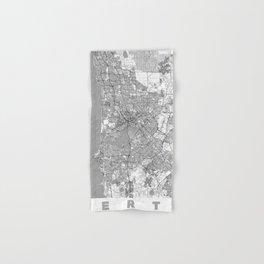 Perth Map Line Hand & Bath Towel