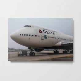 The last 747 in San diego Metal Print
