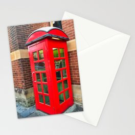 The Red Phone Booth Stationery Cards
