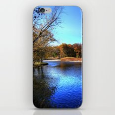 Kishwaukee River iPhone & iPod Skin