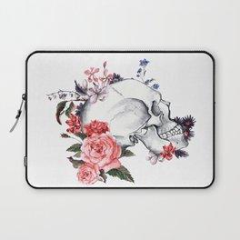 Roses Skull - Death's head Laptop Sleeve