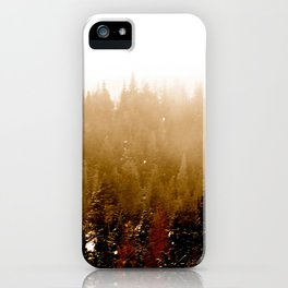 Warm Pines iPhone Case