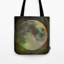 Stereo Moon Tote Bag