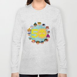 happy 50th small world! Long Sleeve T-shirt