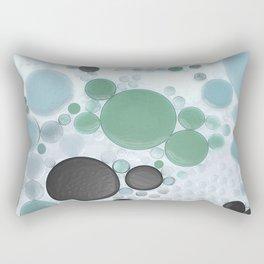 :: Overcast Day at the Beach :: Rectangular Pillow