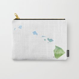 Hawaii Home State Carry-All Pouch
