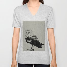 Cute Owl Unisex V-Neck