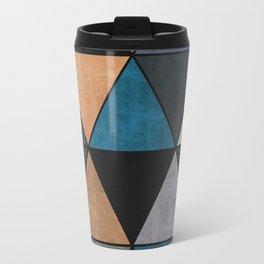 Colorful triangles 2 Travel Mug