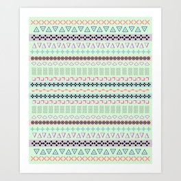 candy shop Art Print