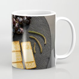 Wine and Cheese - Minimalist Kitchen Photography Coffee Mug