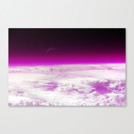 Purple Atmosphere Canvas Print