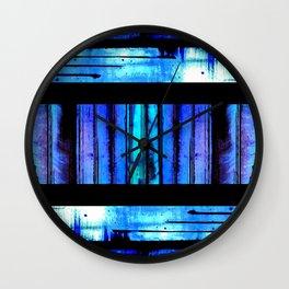 Blue Friends (9) Wall Clock
