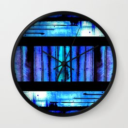 Blue Friends (9) Wall Clock