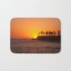 Laguna Beach Sunset Bath Mat