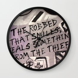 The Robbed Wall Clock