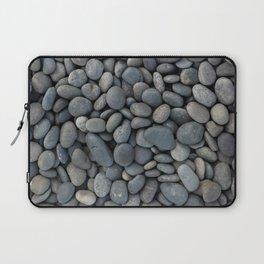 Gray River Stone Pebbles River Rock Laptop Sleeve
