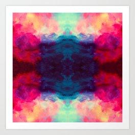 Reassurance Rorschach  Art Print
