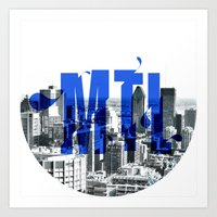 Rep your City: Montreal Art Print