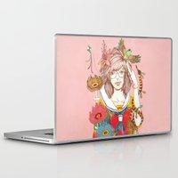 nirvana Laptop & iPad Skins featuring Nirvana by Natsuki Otani