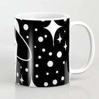 ufo Mugs featuring UFO by shutupbek