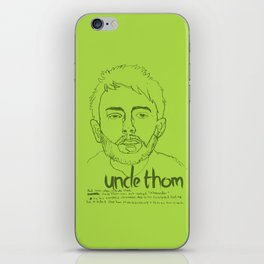Uncle Thom iPhone Skin