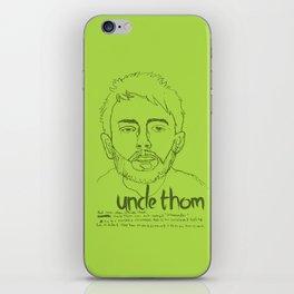 Uncle Thom iPhone Skin