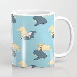 Waffles & Shark Coffee Mug