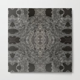 An Ode To You... When Particles Align Multiplied Metal Print