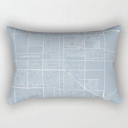 Oxnard Map, USA - Slate Rectangular Pillow