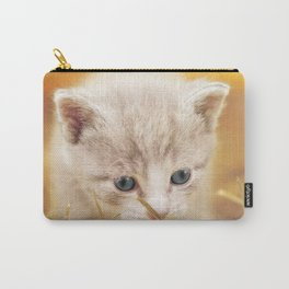 Kitten | Chaton Carry-All Pouch