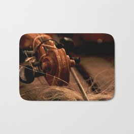 Scroll  & Horsehair Bath Mat