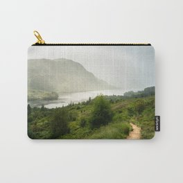 Scottish Highlands Landscape Panorama Carry-All Pouch