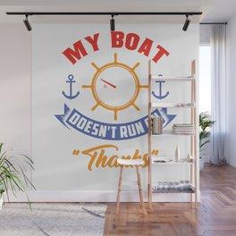 Boating Wall Mural