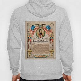 1863 Emancipation Proclamation by President Abraham Lincoln Hoody